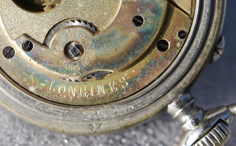 Votre montre de poche du moment ! - Page 10 Longin24