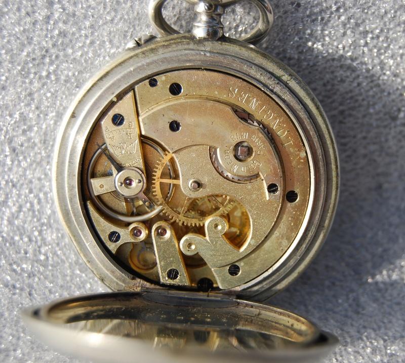 Votre montre de poche du moment ! - Page 10 Longin25