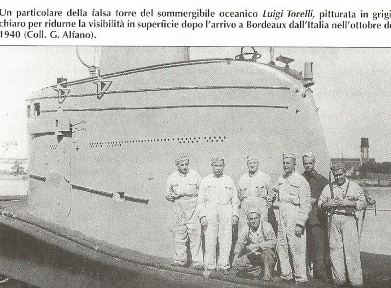Sous-marin Marconi Torell16