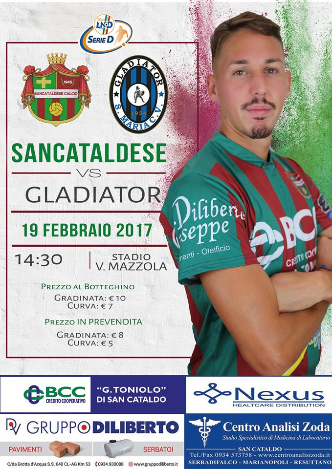 Campionato 24°giornata: SANCATALDESE - gladiator 0-1 16729110