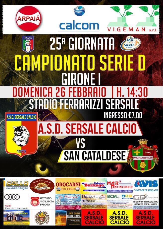 Campionato 25°giornata: sersale - SANCATALDESE 1-2 16864010