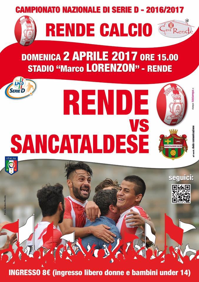 Campionato 29°giornata: s.s. rende - SANCATALDESE 4-1 17553610