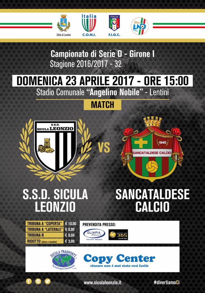 Campionato 32°giornata: sicula leonzio - SANCATALDESE 4-2 18034010