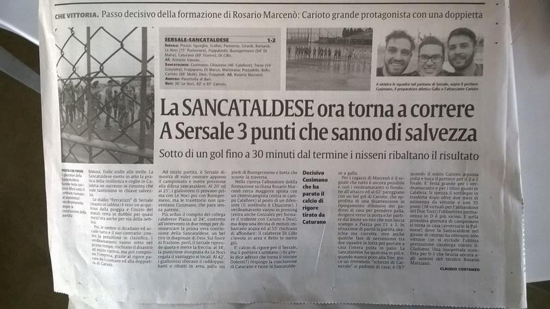 Campionato 25°giornata: sersale - SANCATALDESE 1-2 Img-2013