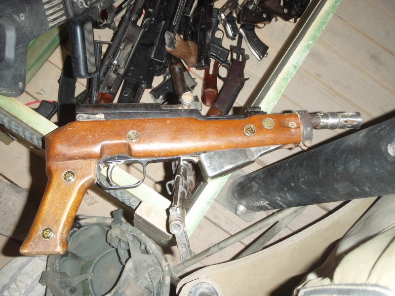 PPSH et SKS traffiqués en Irak P5160110
