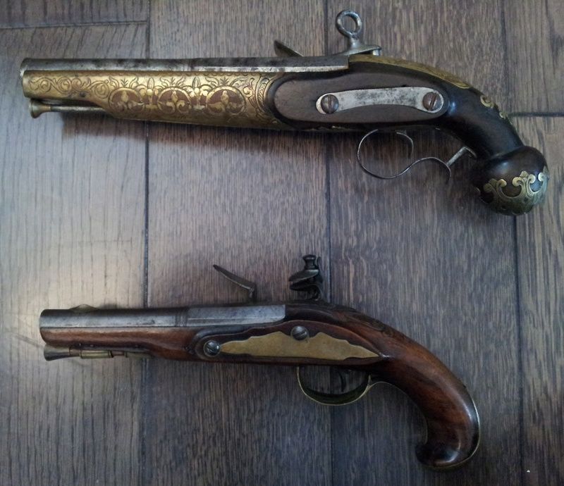 3 pistolets a silex inconnus 20170312