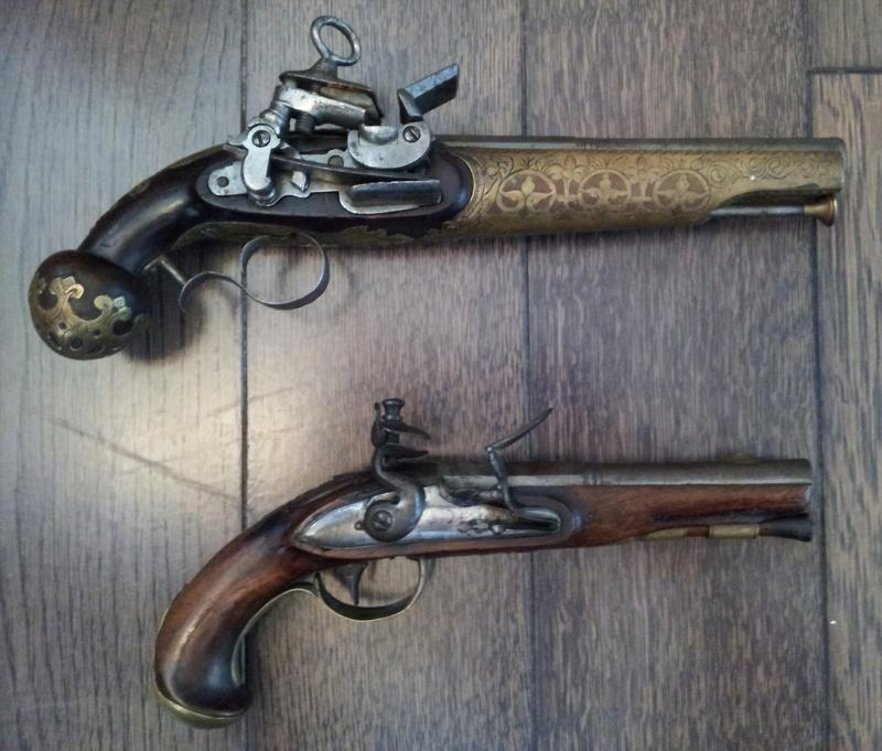 3 pistolets a silex inconnus 20170313