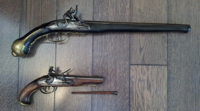 3 pistolets a silex inconnus 20170316