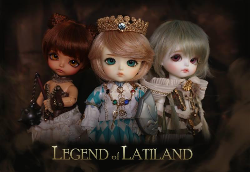 ♥ Preorder de Mai / Juin ♥ Legend of Latiland ♥ 10277310