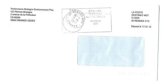 Contrôle postal à Rennes... 2012 Destin11