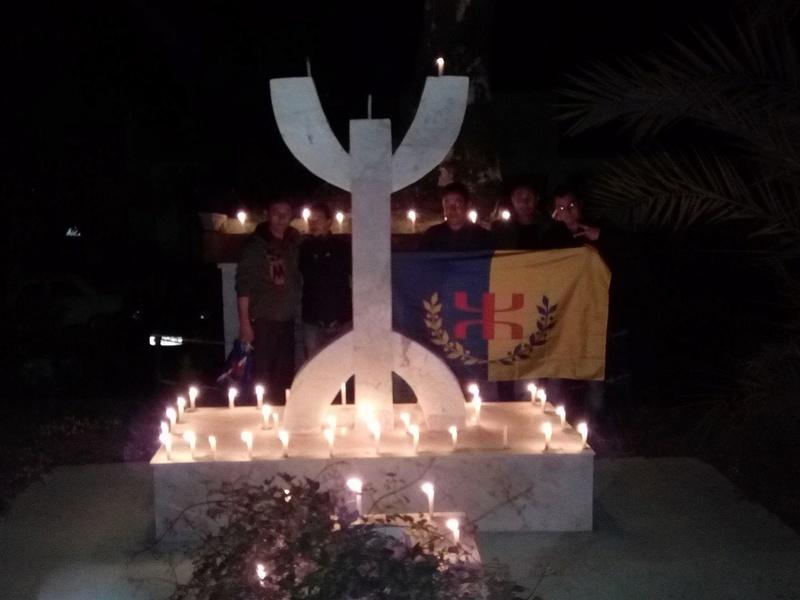 Hommage à Saidi Akli, Recueillement sur sa tombe le 20 Avril 2017 à Aokas. 1313
