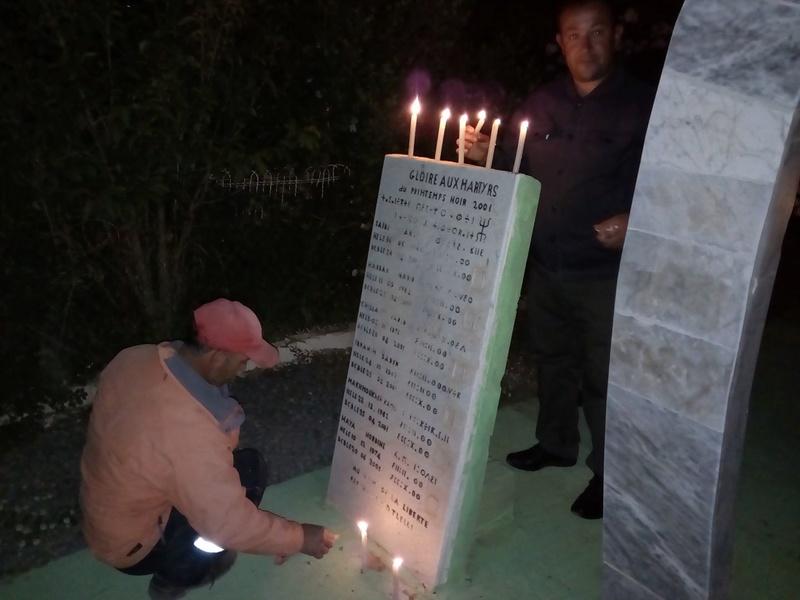 Hommage à Saidi Akli, Recueillement sur sa tombe le 20 Avril 2017 à Aokas. 216