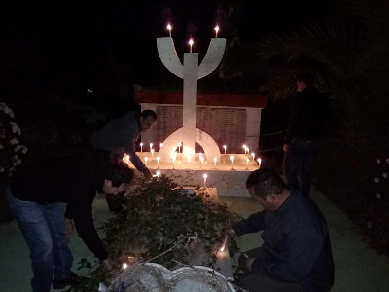 Hommage à Saidi Akli, Recueillement sur sa tombe le 20 Avril 2017 à Aokas. 315