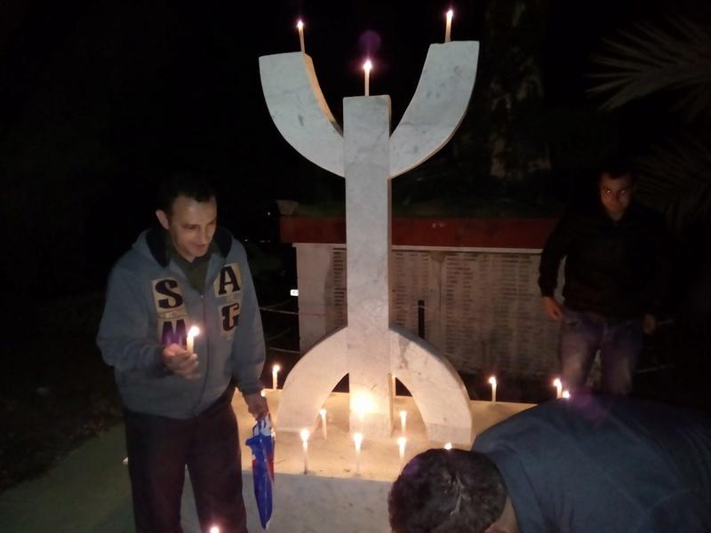 Hommage à Saidi Akli, Recueillement sur sa tombe le 20 Avril 2017 à Aokas. 414