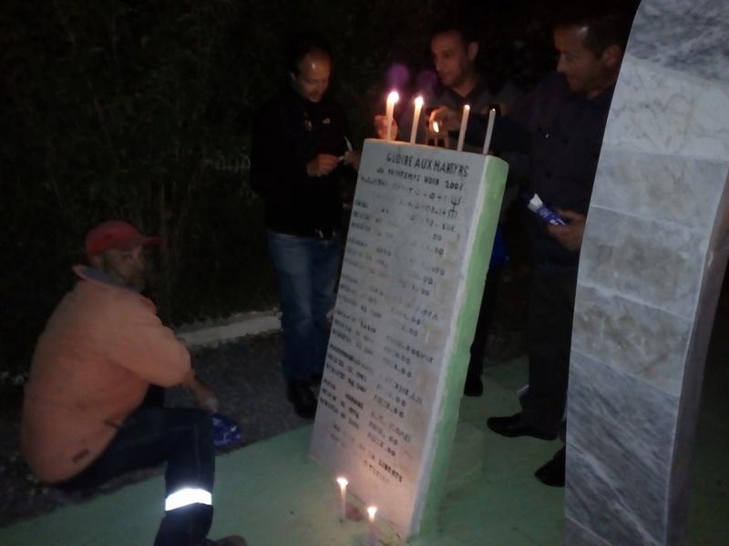Hommage à Saidi Akli, Recueillement sur sa tombe le 20 Avril 2017 à Aokas. 514