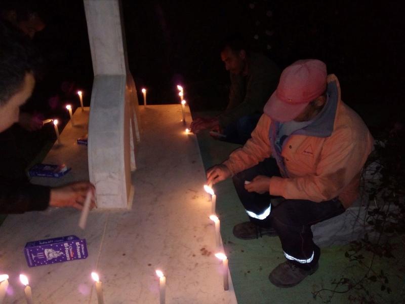 Hommage à Saidi Akli, Recueillement sur sa tombe le 20 Avril 2017 à Aokas. 714