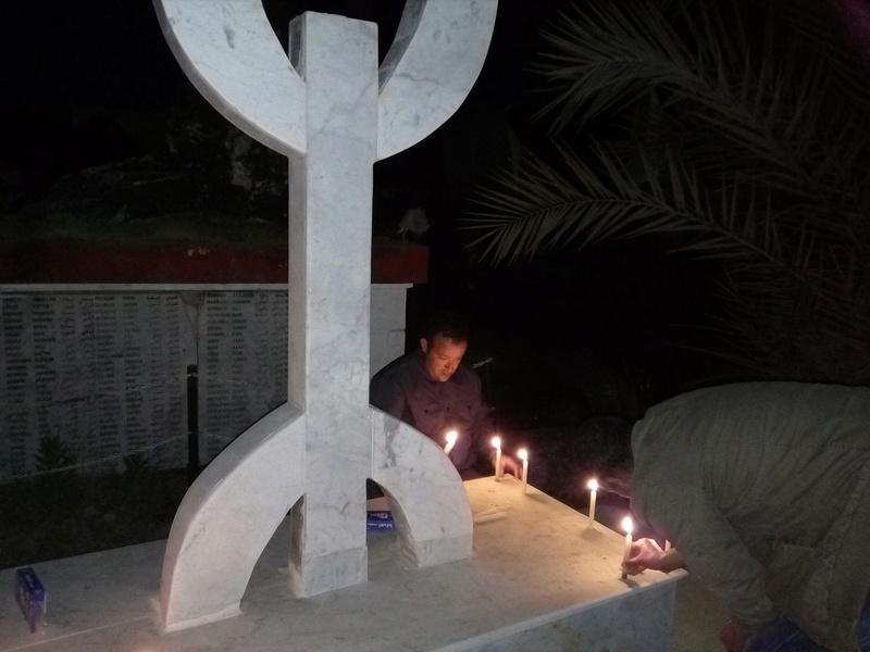 Hommage à Saidi Akli, Recueillement sur sa tombe le 20 Avril 2017 à Aokas. 814