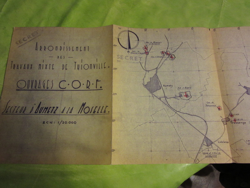 Plan MAGINOT -ESC 1 VENDU Img_2412