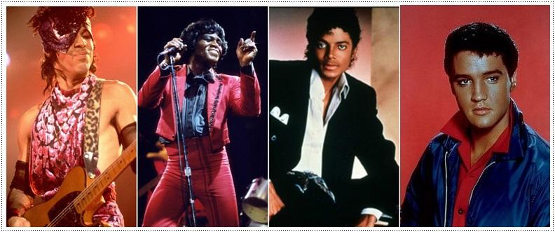 Movimentos de dança com Michael Jackson, Elvis Presley, Prince e James Brown Downlo10