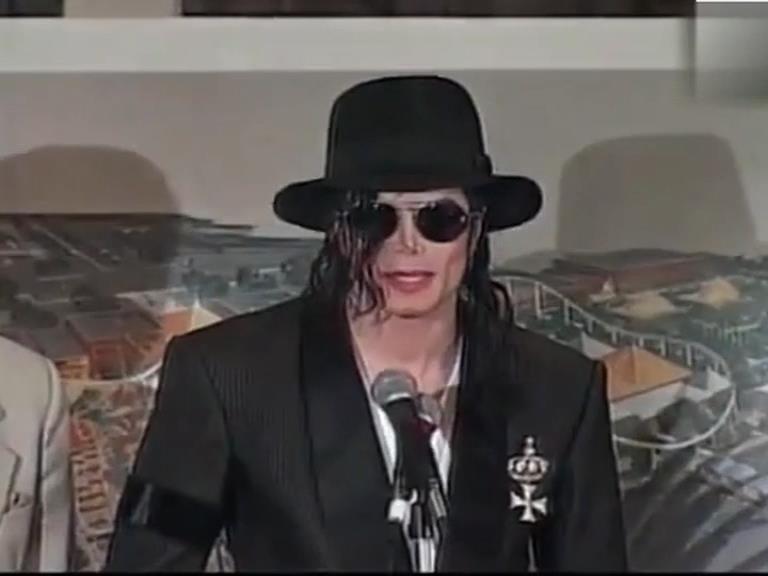 Michael anuncia que está lançando um parque temático em Detroit. 1998 Parque10