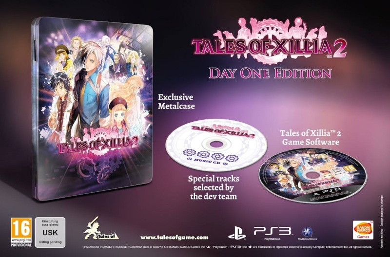 Tales of Xillia 2 éditions collector 10264110