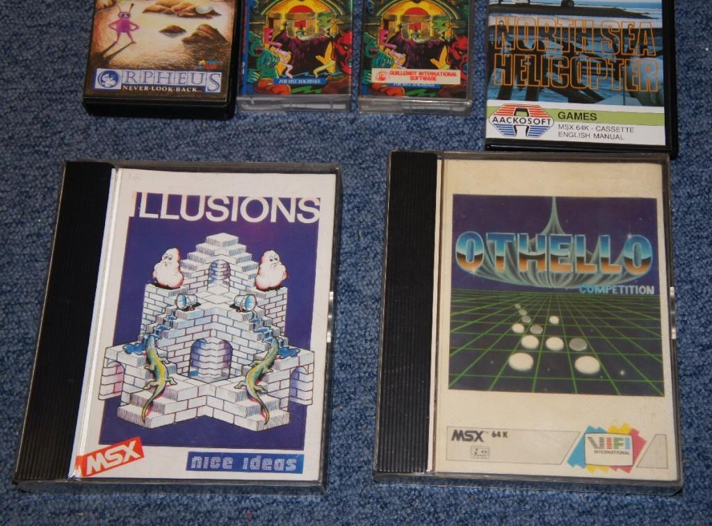 [VDS] Jeux MSX Cartouches et Cassettes Dsc02510