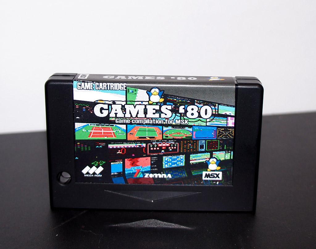 [Vente]  Sony MSX1 à vendre, Cartouches, et cassettes Games810