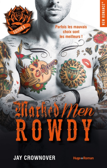 Marked Men - Tome 5 : Rowdy de Jay Crownover Rowdy10