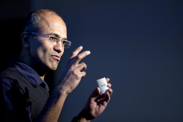 Microsoft nommera Satya Nadella en tant que CEO 10761610