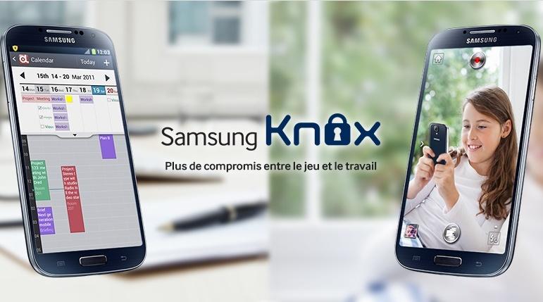 Attention Samsung KNOX annule la garantie Captur17