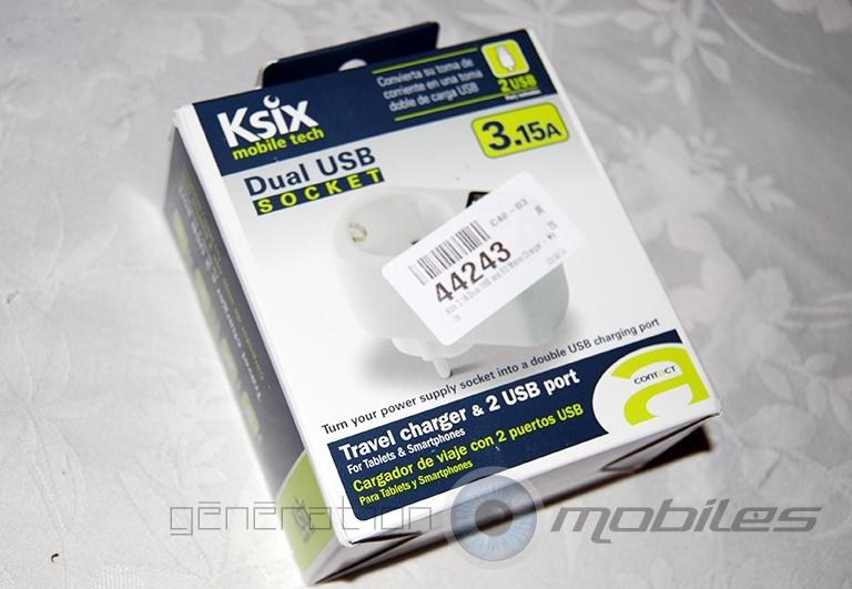 [MOBILEFUN] Test adaptateur ksix USB blanc Coffre10