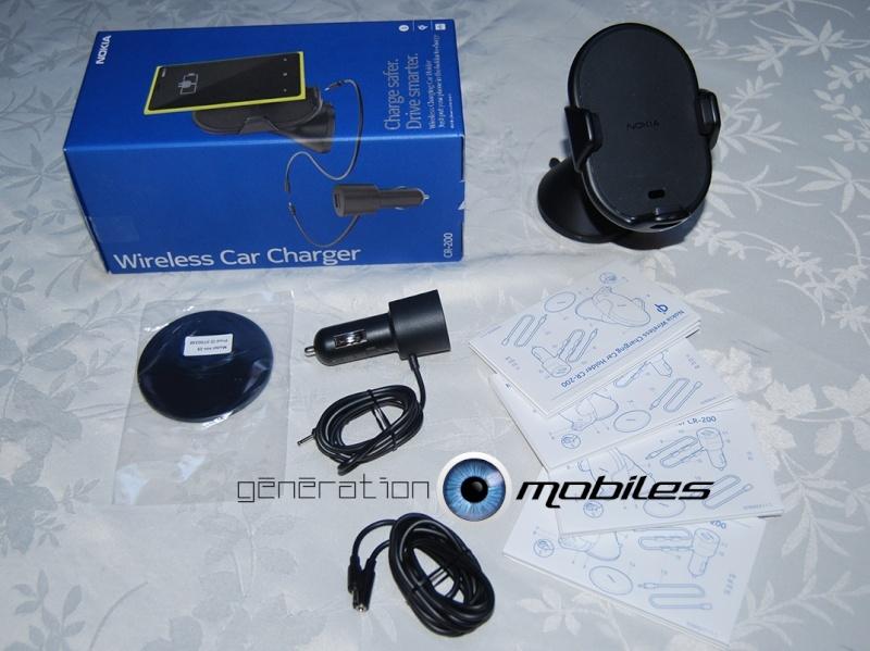 [Mobilostore.com] test du Nokia CR-200, support avec fonction de charge sans fil pour voiture  Conten12