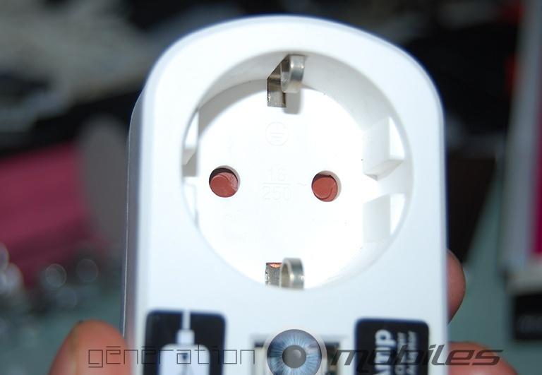 [MOBILEFUN] Test adaptateur ksix USB blanc Datrai10