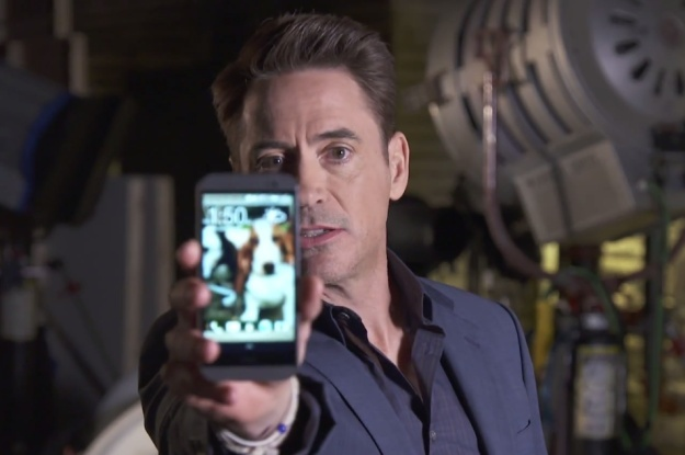 Robert Downey Jr. assure la promo de HTC (vidéo) Downey10