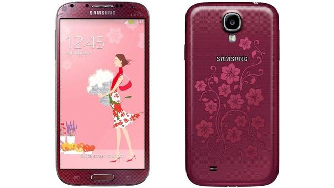 Samsung Galaxy S4 La Fleur Edition dévoilé juste à temps pour la St-Valentin Galaxy10