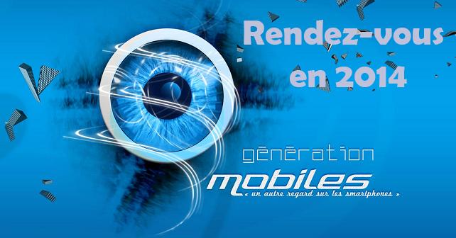Ne ratez par l'heure de passage en 2014  Genera10