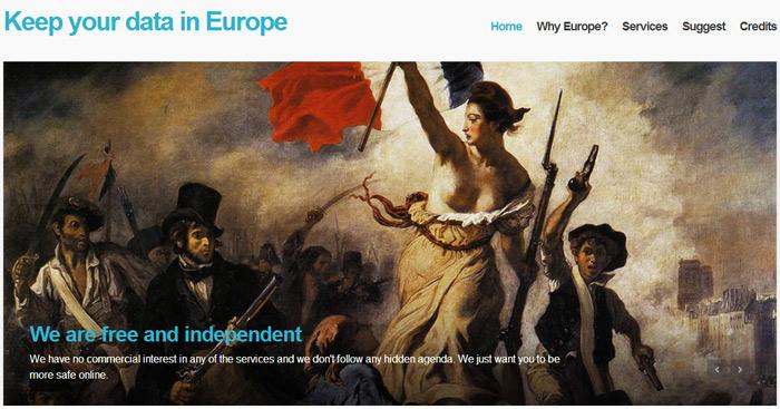 Utiliser des services européens et non américains : cloud, blog...  C'est possible ! Keep_y10