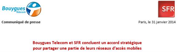 Bouygues et SFR mutualisent en partie leur réseau mobile Medium11