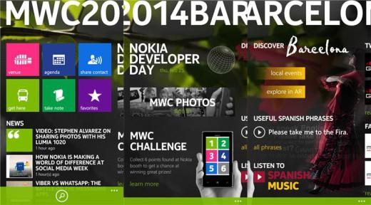 Le Mobile World Congress 2014 avec la nouvelle application exclusive pour Nokia Lumia Mwc_2010