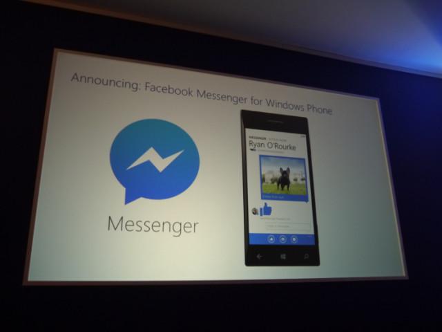 [Windows Phone] Microsoft confirme Facebook Messenger P1020110
