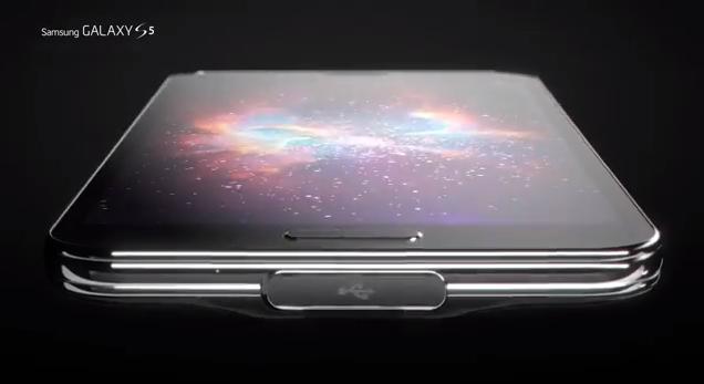 Samsung met en avant le design de son Galaxy S5  (vidéo)  S5ad10