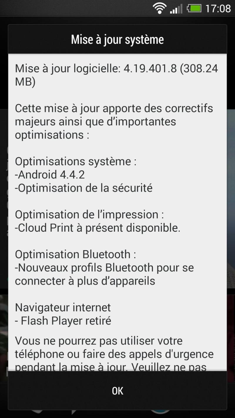 Mise à jour OTA pour HTC One en cours de déploiement Screen11