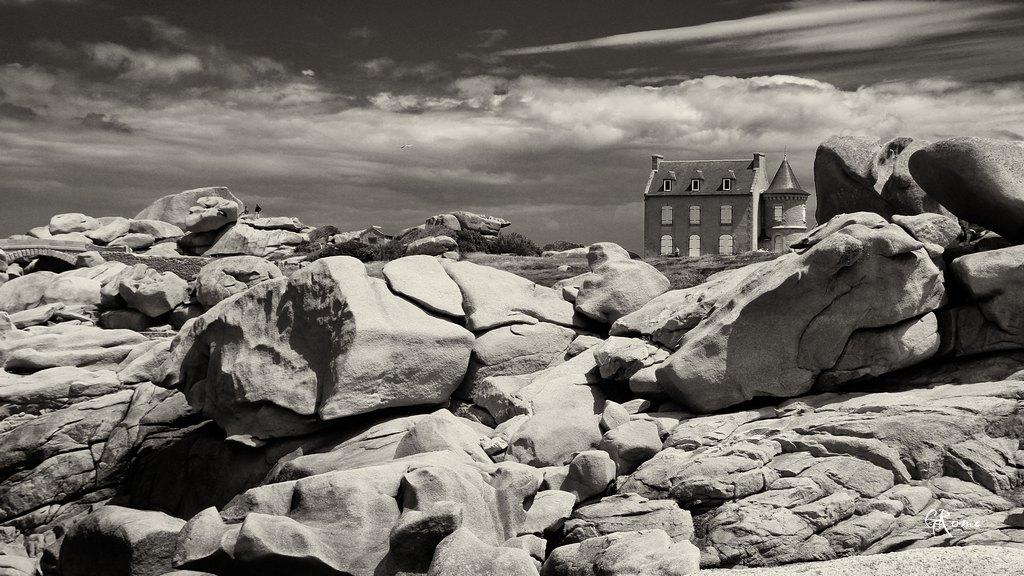 La côte de granit Rose  Plouma13