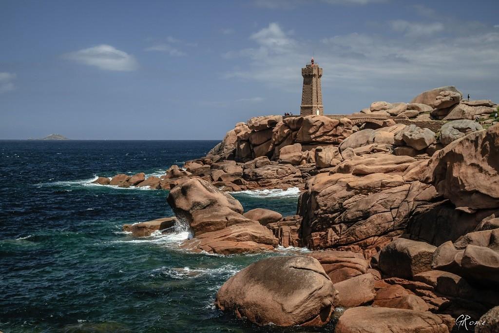 La côte de granit Rose  Plouma14