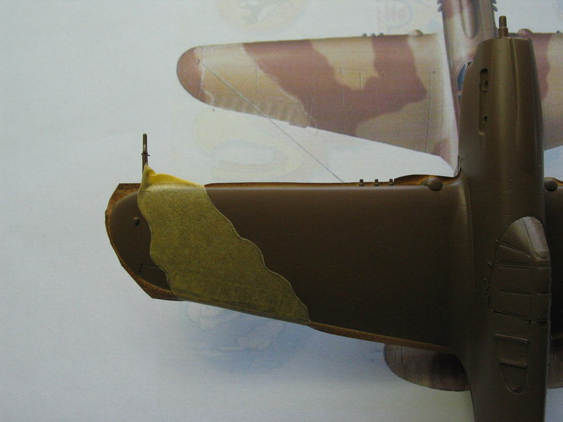 16h pour un ch'ti P40 E de l'USAAF (HobbyBoss au 72) - Page 2 P40_e_42