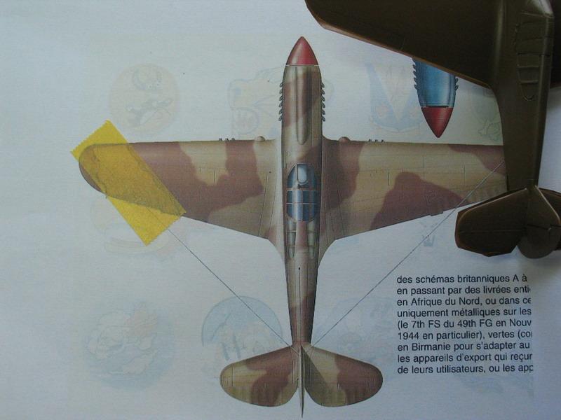 16h pour un ch'ti P40 E de l'USAAF (HobbyBoss au 72) - Page 2 P40_e_44