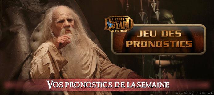 [FERME] Vos pronostics pour l'émission 4 du samedi 15/07/2017 Pronos12
