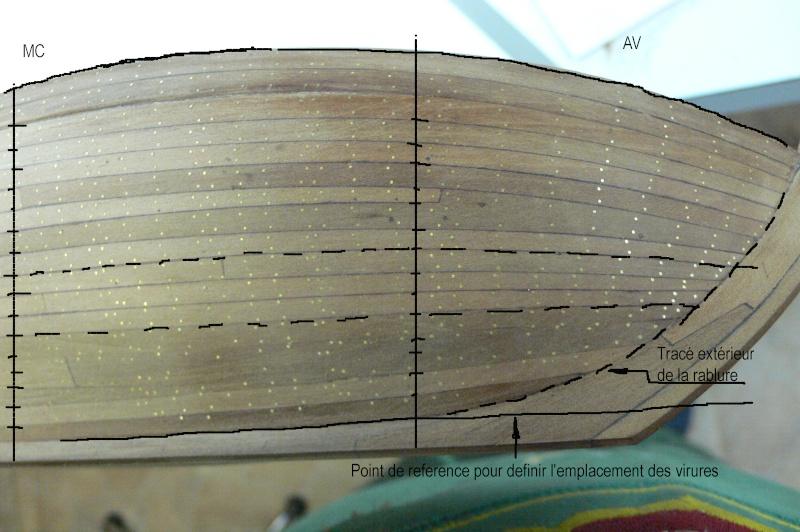 La Licorne ex-kit remaniée en scratch 1:72 fascicules Hachette - Page 36 Traca_10