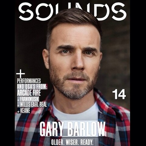 Gary Barlow for Sounds Magazine by Luc Coiffait 124