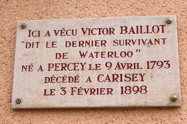 Le dernier de Waterloo, un Bourguignon de l'Yonne Carise11